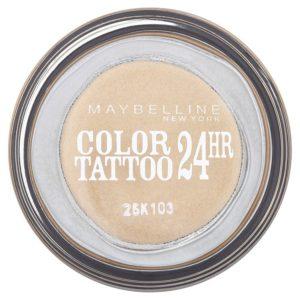 Maybelline oční stíny Color Tattoo 24hr   Eternal Gold 05 - netDrogerie