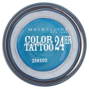 Maybelline oční stíny Color Tattoo 24hr  Turquoise Forever 20 - netDrogerie