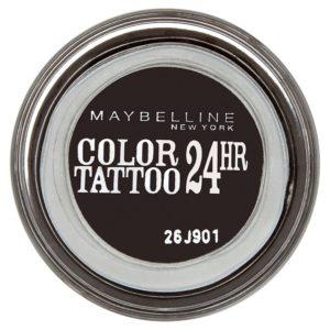 Maybelline oční stíny Color Tattoo 24hr  Timeless Black 60 - netDrogerie