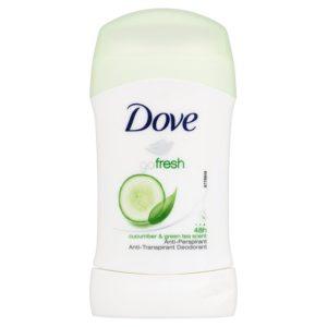 Dove Go Fresh Tuhý antiperspirant s vůní Okurky&Zeleného Čaje 40 ml - netDrogerie