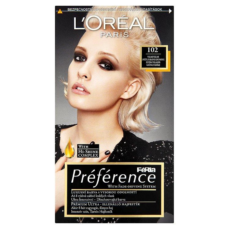 blond barvy na vlasy loreal