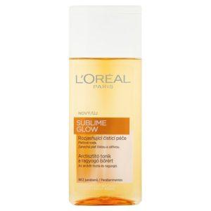 L'Oréal Paris Sublime Glow pleťová voda 200 ml - netDrogerie