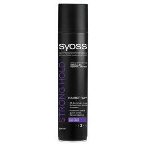 Syoss Strong Hold lak na vlasy silná fixace  300 ml - netDrogerie