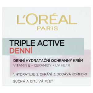 L'Oréal Paris Triple Active Denní hydratační ochranný krém 50 ml - netDrogerie