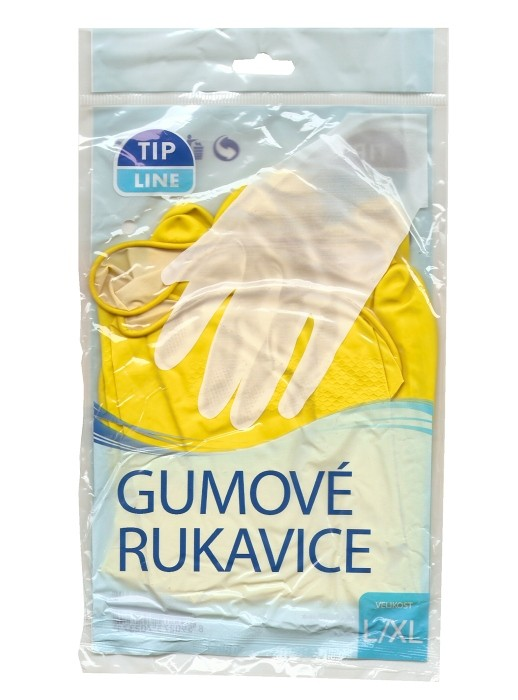 Tip Line gumové rukavice obyčejné a2d41ffef6