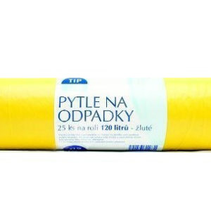 Tip Line pytle na odpad žluté 120 l 25 ks 14eb0a95a0